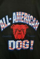 VTG Red Dog Beer 90's T-Shirt All American Dog Size Large