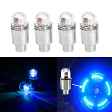 4Pcs Universal LED Car Wheel Tyre Decoration Tire Air Valve Stem Cap Light Lamp