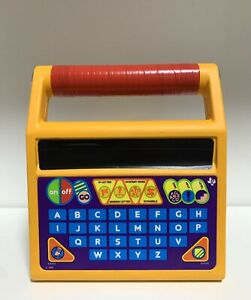 Toy Story Mr. Spell based toy Spelling B 1986 =display only= =does not work=