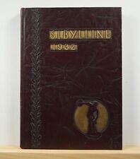 1932 Mount Carmel High School Yearbook - The Sibylline - Mt Carmel Illinois IL