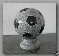Fußball mit Sockel, Granit,  D22cm, Poliert, Neu!!