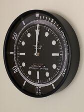 Tudor Black Bay - Wall Clock