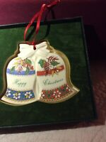 Donegal Parian China - Christmas Ornament - Bells