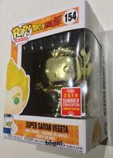 Dragon Ball Z - Vegeta Super Saiyan Gold Chrome SDCC 2018 Exclusive Pop Vinyl