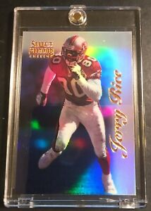 RARE Jerry Rice 1996 Select Certified Edition #62 Mirror Blue FORTY NINERS (236)