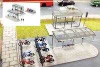 Fordhampton Bus Shelters Kit - OO/HO plastic building kit Gaugemaster GM423
