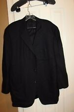 CANALI PROPOSTA SIZE 56 R BLACK WOOL IN GGREAT CONDITION MADE IN ITALY