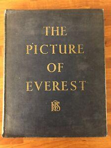 The Picture Of Everest Hodder & Stroughton Hardback Book