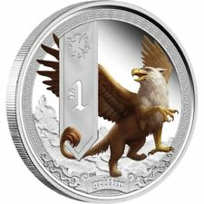 2013 Tuvalu Mythical Creatures GRIFFIN 1oz Silver Proof Coin Perth Mint