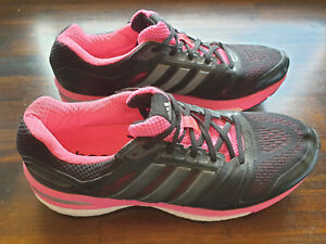 adidas Sequence Boost Womens Running Shoes - Black/Pink US 9. New without Box