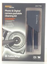 Lens Cleaner Set W/ Cleaning Pen & Antistatic Brush For Photo & Video New S2