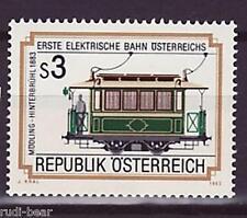 Österreich Nr. 1757 **  erste elektrische Bahn  Triebwagen nr. 5