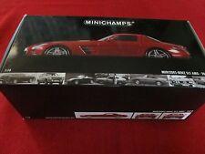 Minichamps ® 100 039020 1:18 Mercedes-Benz SLS AMG 2010 Rosso Metallizzato NUOVO OVP