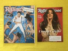 Rolling Stone Magazine – Ricky Martin & Camila Cabello – 2 Hot Covers! 818 1315