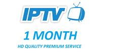 IPTV 1 Month HD subscription* Lg Samsung Smart TV Magbox Zgemma Openbox Android*