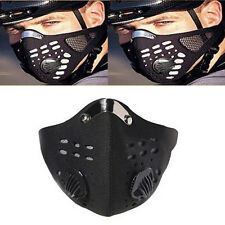 Anti Dust Half Face Mask Cycling Bicycle Bike Motorcycle Racing Ski Filter Sport
