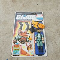 Vintage GI Joe Figure 1986 Wet Suit complete with file card