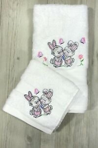 Kids Hand Towel Washer Set Baby Childrens Gift Baby Shower Easter