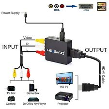 Converter Upscaler to HDMI PS1 Xbox Nintendo 64 Retron Genesis Gamecube to HDTV