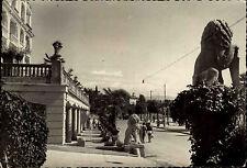 Opatija Istrien frankierte AK 1953 gel. n. Ebenshausen Hoteli Slavija Hotel