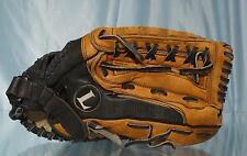 "13.5"" Black & Brown LOUISVILLE SLUGGER KHBG9 The SOFTBALLER Fielders Glove RH"
