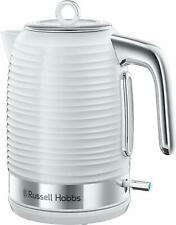 Russell Hobbs 24360 Inspire Kettle White 1.7L 3000W 3 Year Guarantee