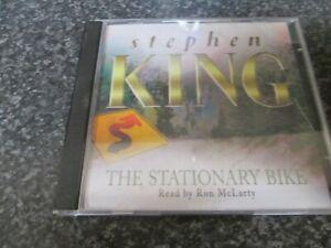 STEPHEN KING - THE STATIONARY BIKE - 2 CD AUDIO BOOK SET