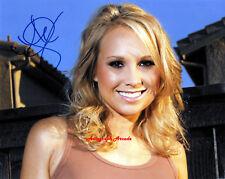 ALANA CURRY Signed Original Autographed Photo 10x8 COA #1