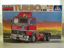 ITALERI - RENAULT TURBO R 360 SEMI TRUCK / TRACTOR - MODEL KIT (OPENED)