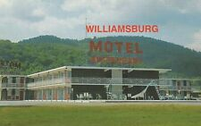(Z)  Williamsburg, KY - Williamsburg Motel - Exterior and Grounds - Signage