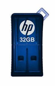 HP v165w 32GB USB 2.0 Flash Pen Drive - Blue New Retail Pack