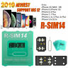 RSIM 14 R-SIM Nano Unlock Card for iPhone XS Max XR X 8 7 6 6s 4G LTE iOS12+ Lot