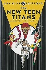 DC ARCHIVES NEW TEEN TITANS VOL 4  HC MINT/SEALED