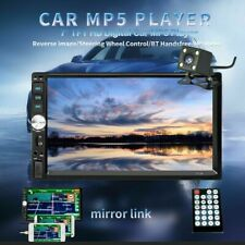 7'' HD Bluetooth Touch Screen Car GPS Stereo Radio Android 5.1 With Rear Camera