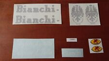 SET COMPLETO DECALS 10 PEZZI BIANCHI CAMPIONE D'ITALIA LARIO '60s PELEKAT ステッカー