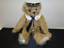 """Merrythought Tide Rider B15Gd 15"""" Titanic Rescue Bear Teddy Mohair Limited Ed"""