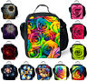 Rose Floral Thermal Cooler Insulated Lunch Box Bag Girl School Lunch Bag Picnic
