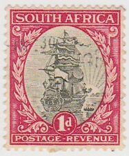(RSA63)1926 South Africa 1d red & black (south) (B)ow47