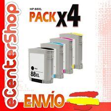 4 Cartuchos de Tinta NON-OEM HP 88XL - Officejet Pro L7590