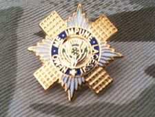 Scots Guards Military Lapel Badge