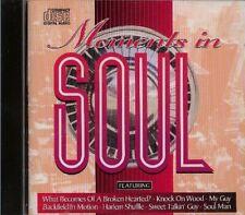 Moments in Soul Jimmy Ruffin, Ben E King, Gloria Gaynor, Percy Sledge, De.. [CD]