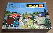 FALLER 655 - GELANDEBAU SPACHTELMASSE - TERRA 500gr - NUOVO