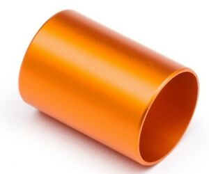 NEW HPI Micro RS4 / Drift Differential Pipe 14x20x0.5mm Orange 110146