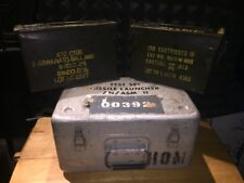 3 Boxes NATO Metal Army Green Military Ammo Ammunition Cans Navy Missile Launch