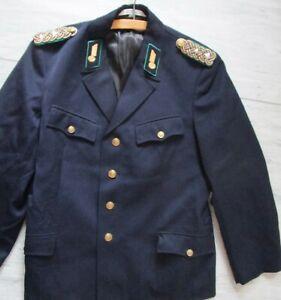 DDR Uniform - Jacke  /  Deutsche Reichsbahn /  Reichsbahn-Ober-Rat / Größe 50