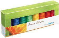 Mettler Thread Set - Summer Collection - Silk Finish Cotton - Set of 8 / 1500yds