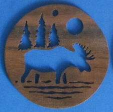 Moose Christmas Ornament - hand cut