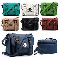 Women Designer HandBags Ladies Faux Leather Shoulder Tote Satchel Cross Body Bag