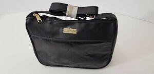 Moda Nova Leather & P V C Black Patchwork Cross Body Bag New Unused