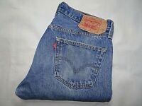 """LEVIS 501 Mens Jeans Blue Denim Straight Leg SIZE W34 L29 Waist 34"""" Leg 29"""" LEVI"""